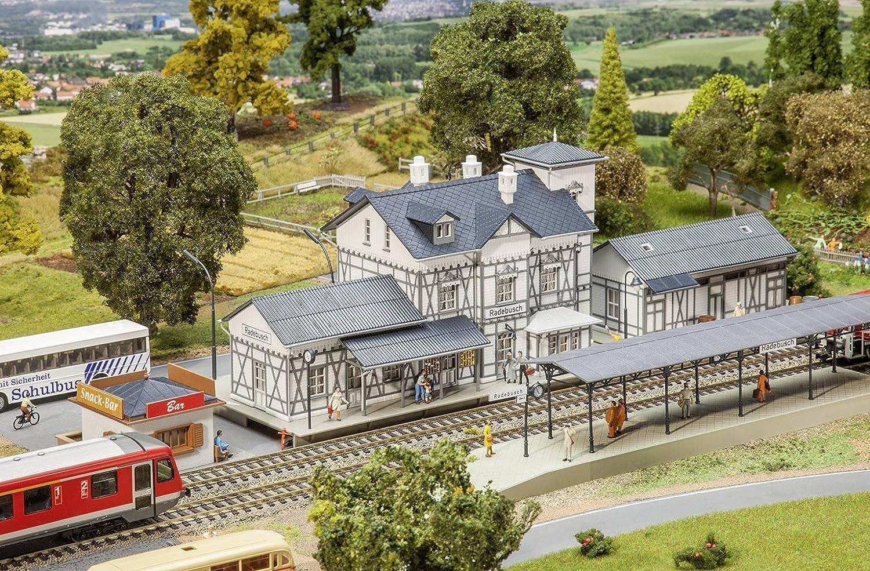 Faller FA 190060 - Kit de construcción de maqueta de estación «Radebusch»
