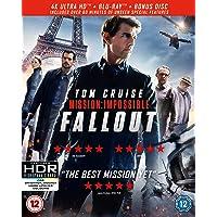 Mission: Impossible - Fallout (4KUHD + Blu-ray + Bonus Disc) [2018] [Region Free]
