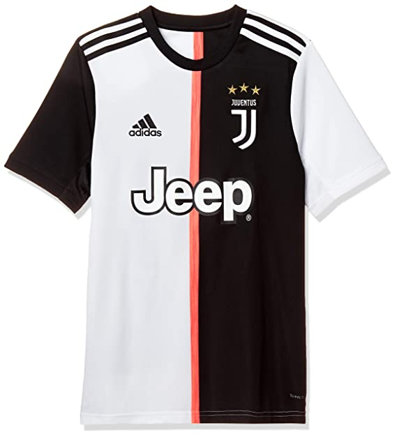 new concept 36733 b262e adidas Juventus 2019/20 Kids Short Sleeve Home Football ...
