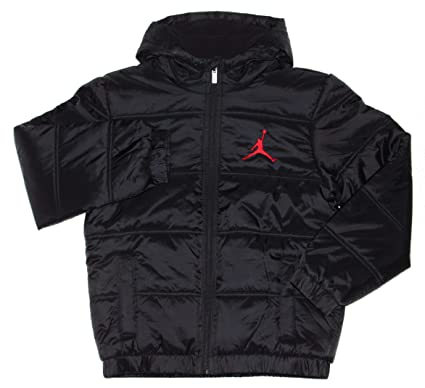 a305257c7c7bc2 Amazon.com  Nike Air Jordan Jumpman Big Boys  Puffer Jacket  Clothing