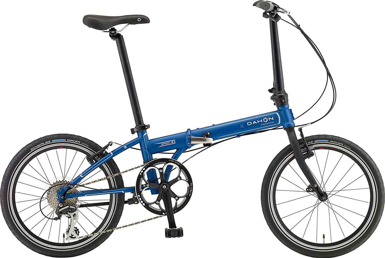 DAHON(ダホン) 折りたたみ自転車 Speed(スピード) D8 インターナショナルモデル 20インチ 2016年モデル 外装8段変速 クロモリフレーム Matt Blue KAC083 B0140RBKDY