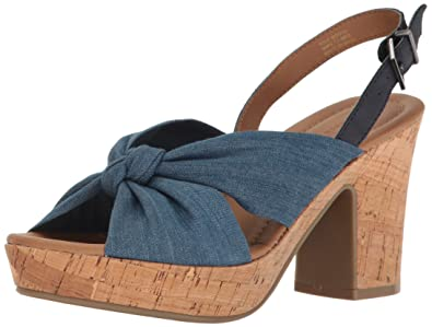 Kenneth Cole Reaction Tole Booth Heel Sandal (Women's) d5HCs8gJ