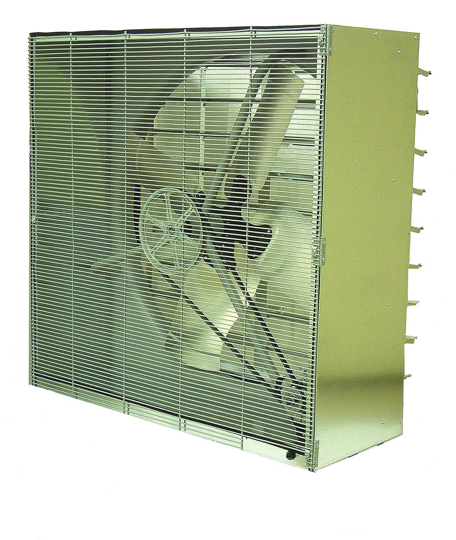 "B003XWB42A TPI CBT42B Standard Cabinet Exhaust Fan with Shutter, 42"" Size, 3/4 HP Motor, 12400 CFM, 1725 RPM, 11 Amps, 18-1/2"" Depth 817gDRyc4aL"