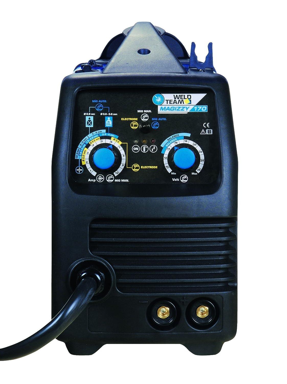 Soldador inverter CEMONT magizzy 170 230 V monofásico 170 a mig/mag ...