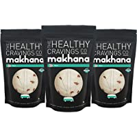 The Healthy Cravings Co Roasted Makhana Snack, Mint (Pack of 3)