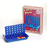 Prof Warbles Retro Traditional Travel Family Game 4 in a Row Connect 4