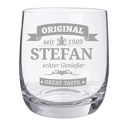 "Personello® Whiskyglas mit Gravur, Motiv Original, Name/Jahr/Text  personalisiert, graviertes Whiskyglas ""Tumbler"""