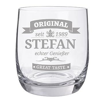 Personello® Whiskyglas mit Gravur, Motiv Original, Name / Jahr ...