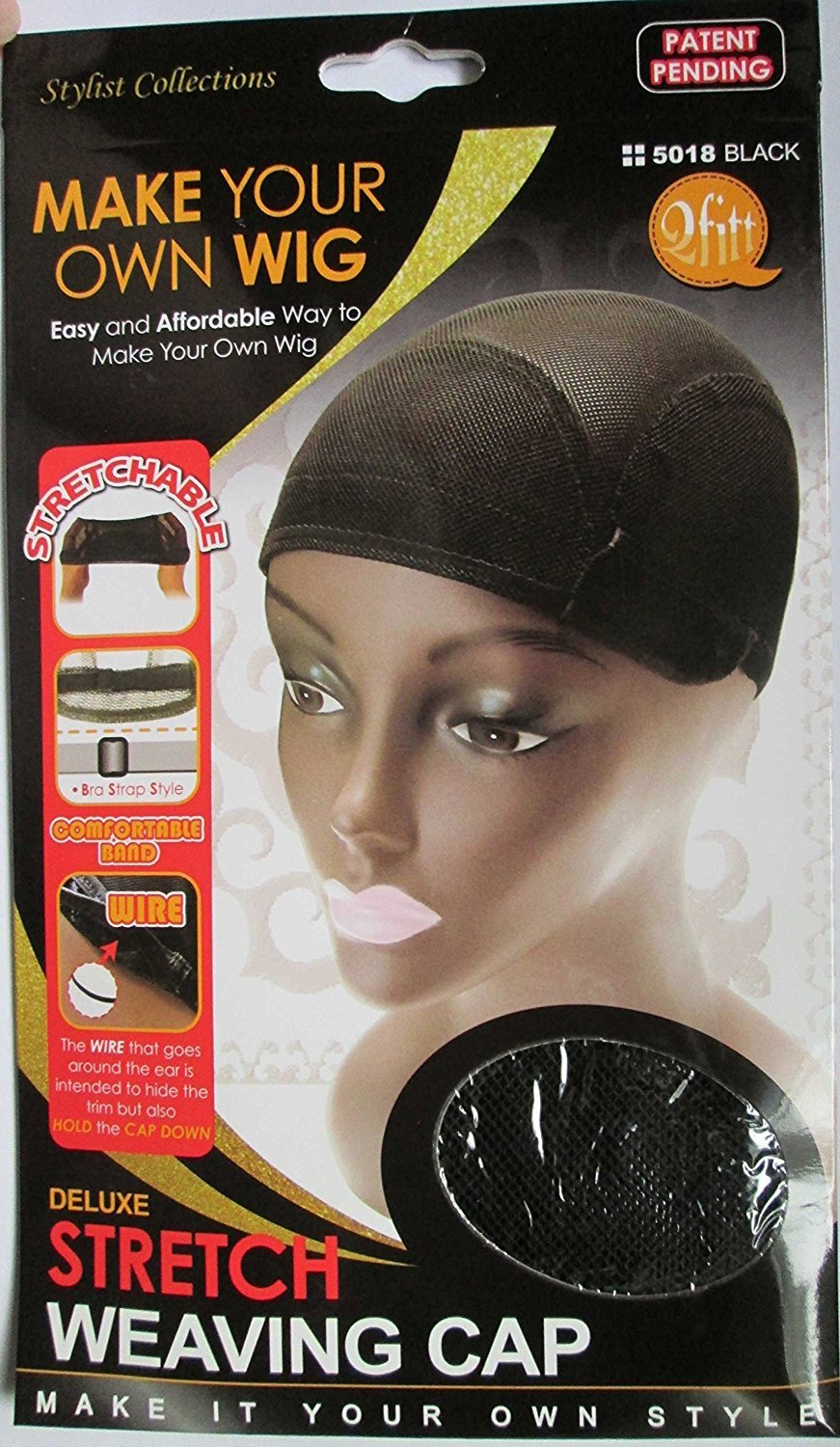 Amazon qfit make your own wig deluxe stretch weaving cap amazon qfit make your own wig deluxe stretch weaving cap 5018 beauty pmusecretfo Images