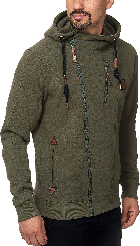 SOLID BenjiZip Herren Sweatjacke Kapuzen-Jacke Zip-Hoodie Neu mit Etikett