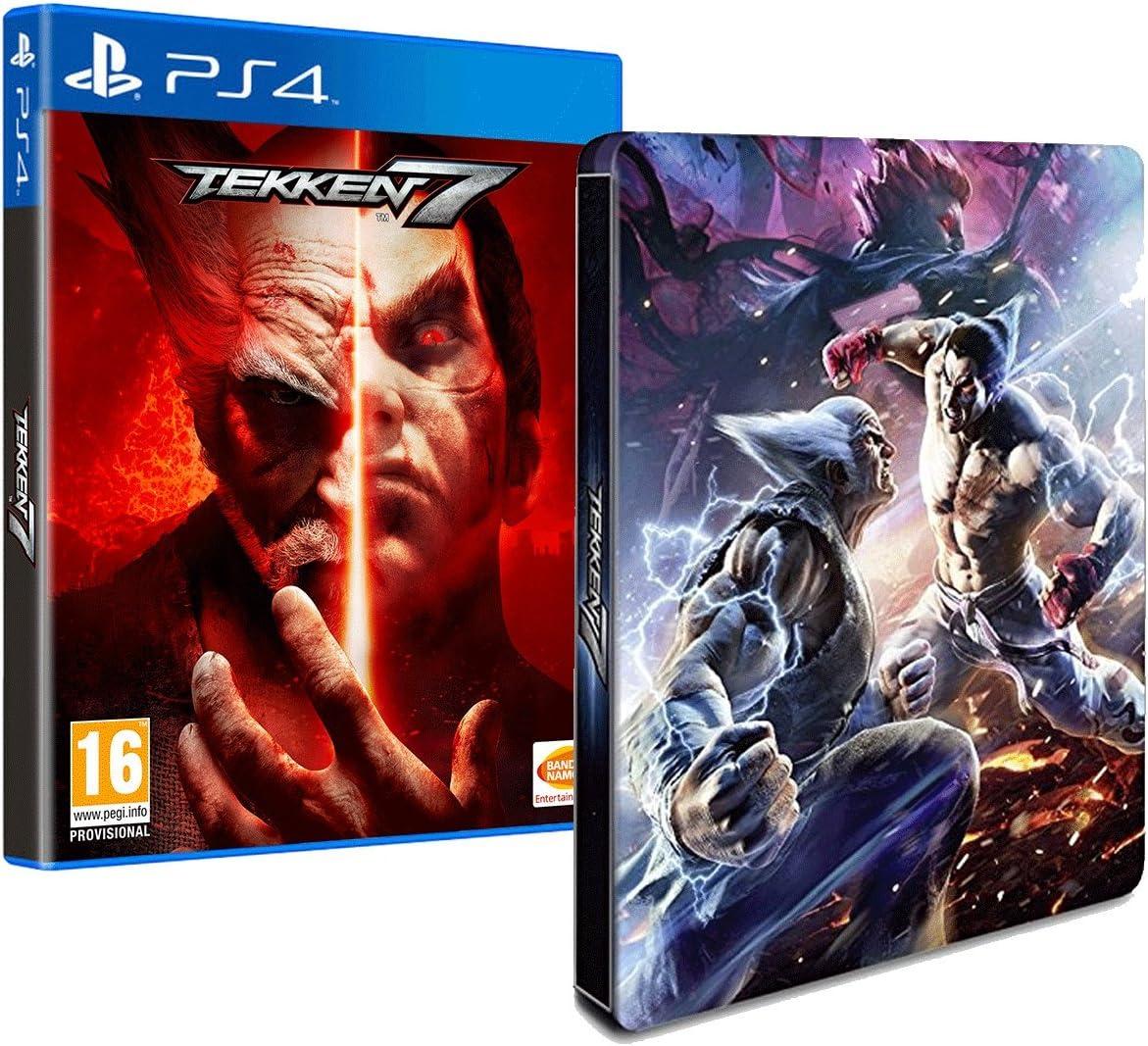 Tekken 7 + Steelbook Exclusif Amazon [Importación francesa]: Amazon.es: Videojuegos