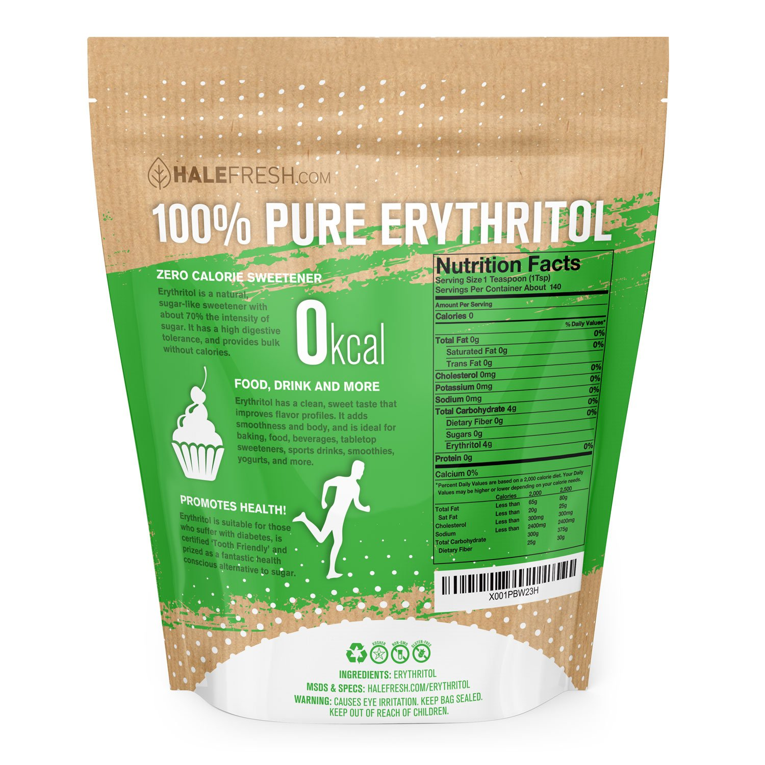 Erythritol Sweetener Natural Sugar Substitute