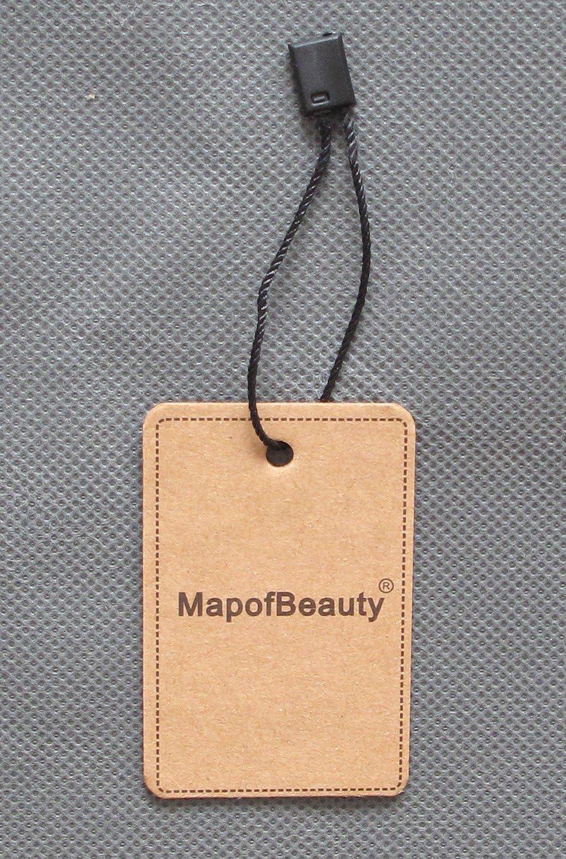 MapofBeauty 30cm// 12 pulgada medio lacio hombre lacio Pelucas oscuro marr/ón