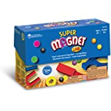 Learning Resources Super Magnet Lab Kit, 124 Pieces