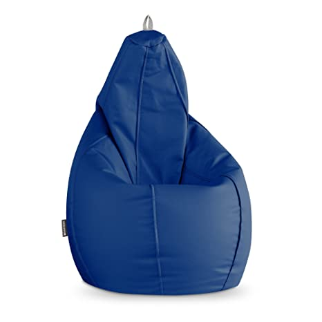 Happers Puff Pera Polipiel Outdoor Azul XL