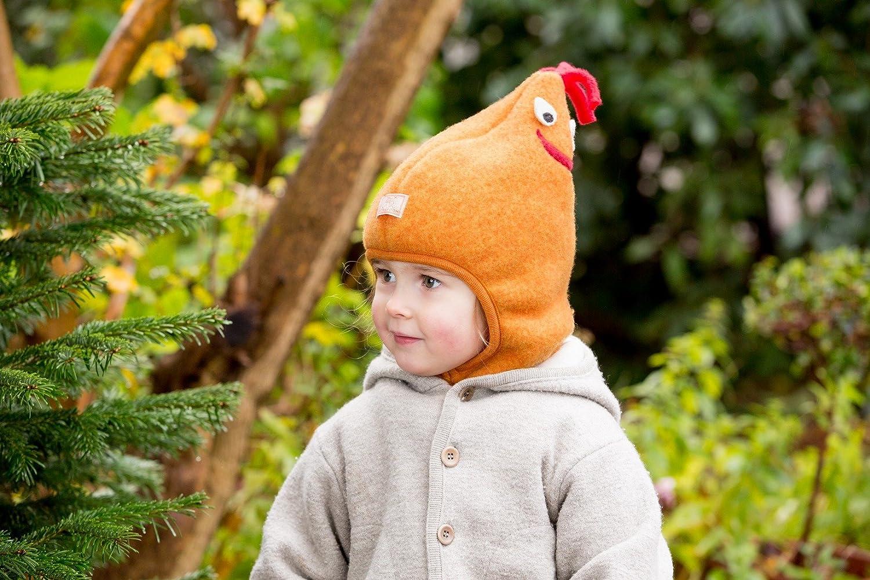 33a0777f031 PICKAPOOH Hat 100% MERINO wool Balaclava Baby Boy Girl Children fleece  winter Max (48