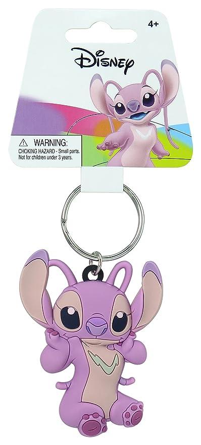 Disney Lilo & Stitch - Angel Soft Touch PVC Key Ring Key Accessory