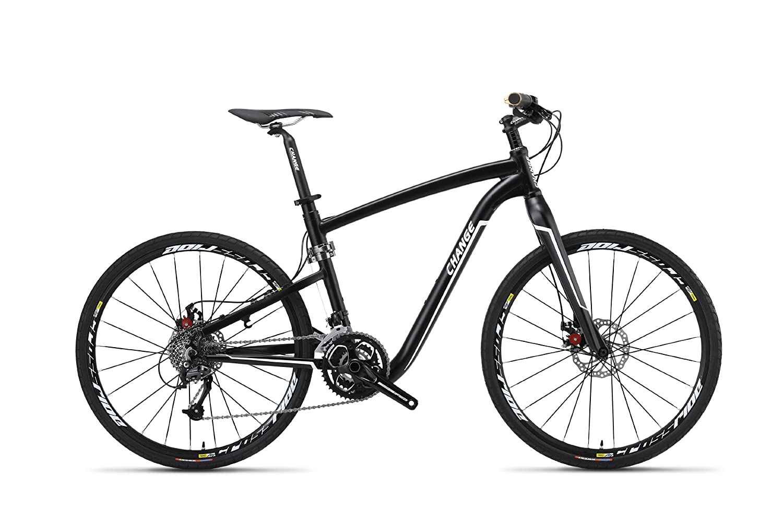 ChangeBike(チェンジバイク) マウンテンバイク DF-611 折りたたみ自転車 26インチ 軽量 本格派スポーツモデル 10.5kg アルミフレーム キャリーバッグ付属 26インチ B00CPSXF6Q 18インチ(170cm~175cm)