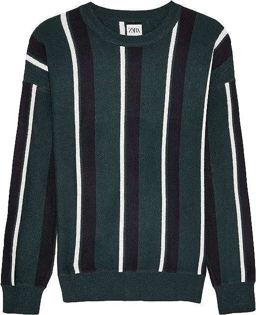 Zara 5536/300/500 - Jersey de Rayas Verticales para Hombre ...