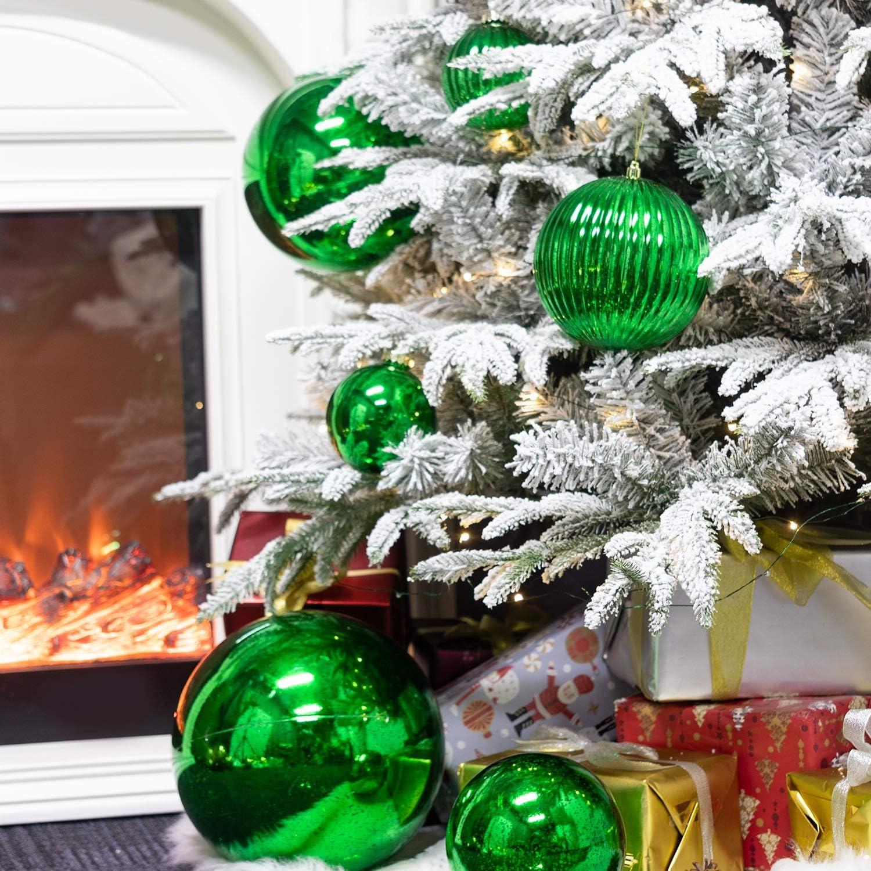 comprar bola navidad gigante verde opiniones amazon barata