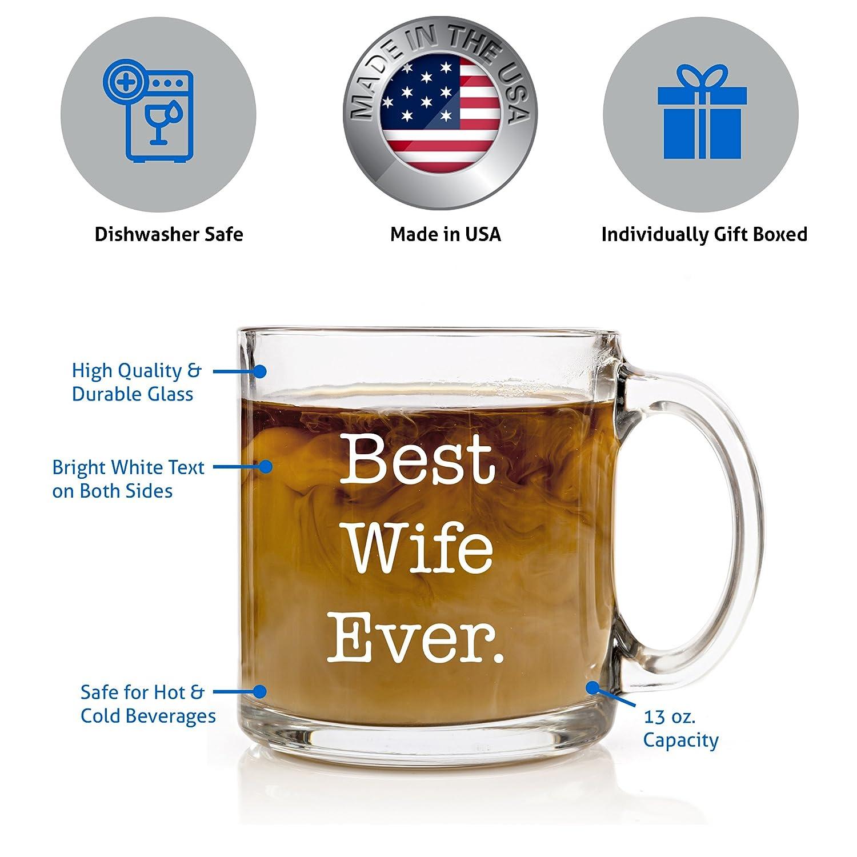 Amazoncom Best Wife Ever Coffee Mug Perfect Christmas, Anniversary, Birthday