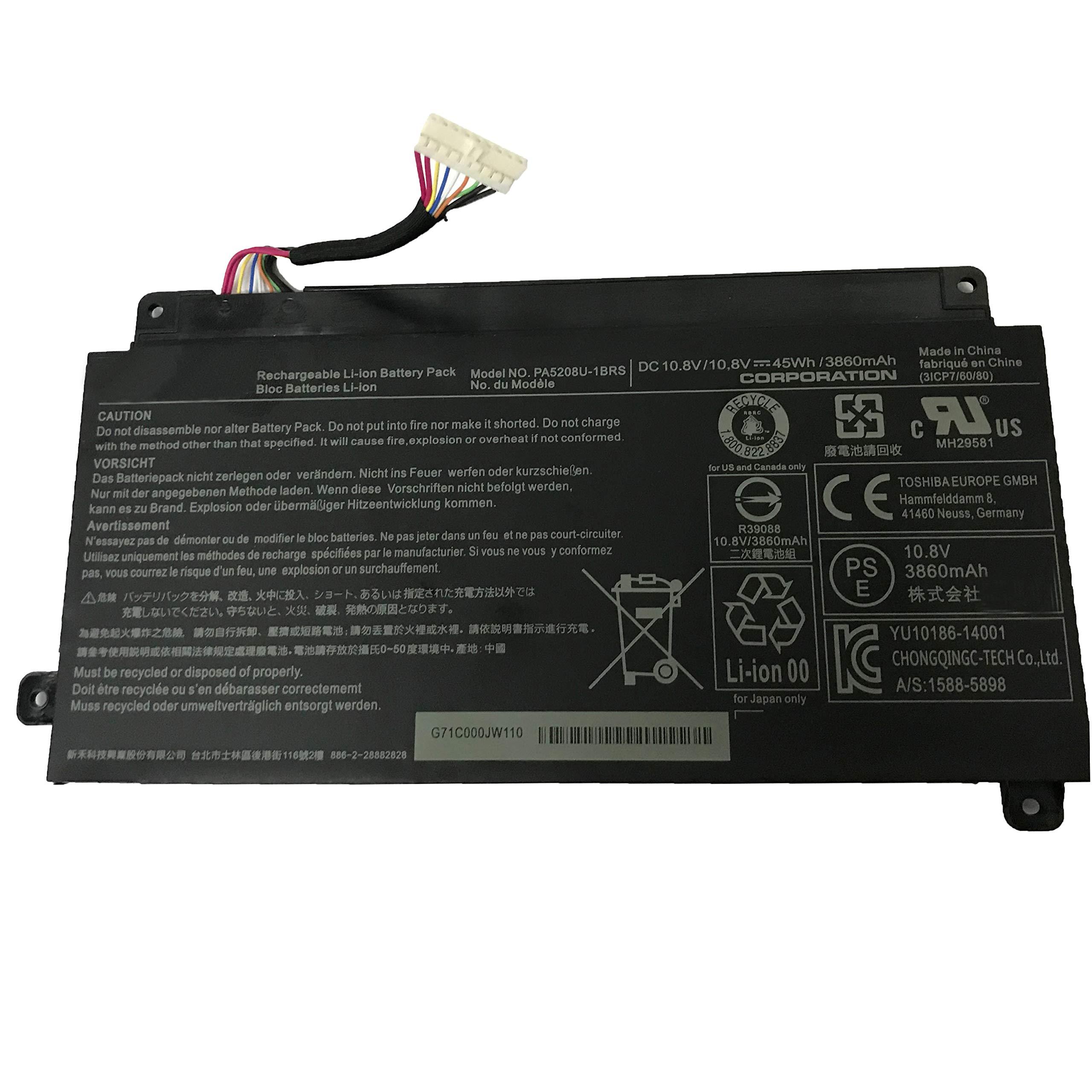 Bateria PA5208U-1BRS Loptop para Toshiba Chromebook CB35 CB30 CB35-B3330 CB35-B3340 CB35-C3300 CB35-C3350 CB30-B3123 Sat