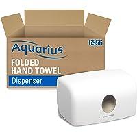 Aquarius 6956 Dispensador de Toallas Secamanos, Blanco