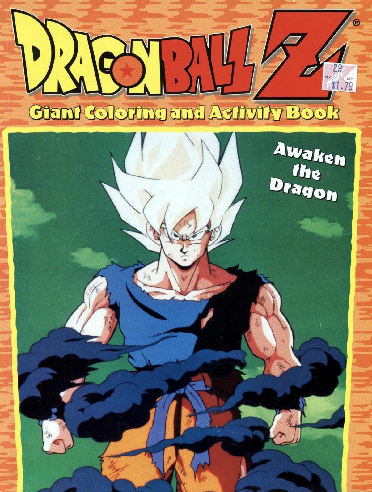 awaken the dragon dragon ball z giant coloring and activity book dragon ball z toei animation 9780766605398 amazoncom books