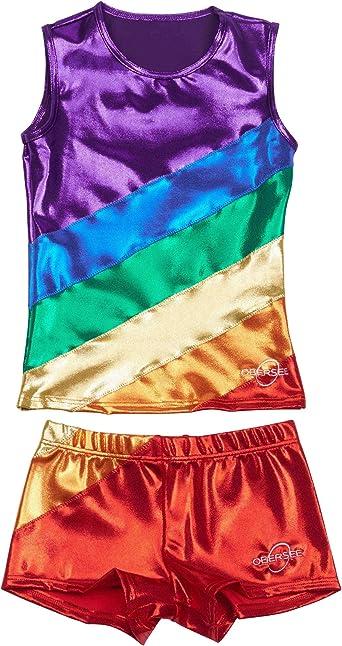 Obersee Cheer Dance Tank /& Shorts Set