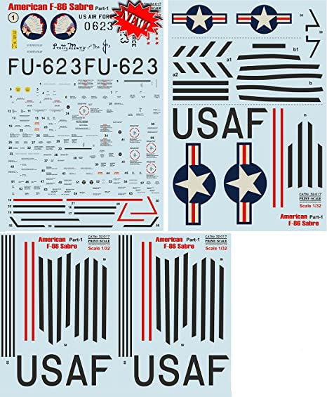 Print Scale MiG-21 Air Force of the Vietnam War MiG-17 32-011 1:32
