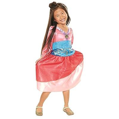 Disney Princess Heart Strong Mulan Dress: Toys & Games