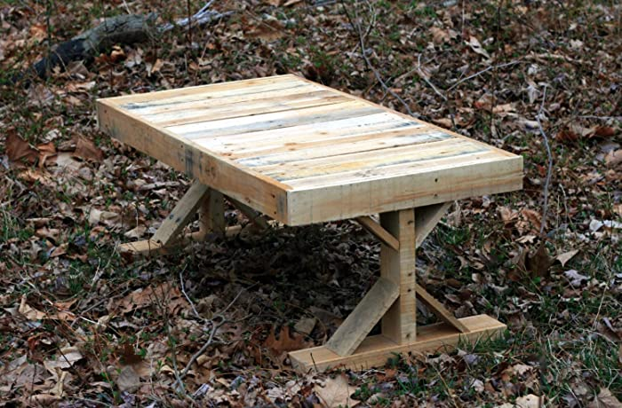 Reclaimed Wood Pallet Wood Coffee Table Rustic Reclaimed Wood Coffee Table  Industrial Sofa Table