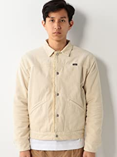 Sherpa Lined Corduroy Jacket 1125-599-6707: Off White