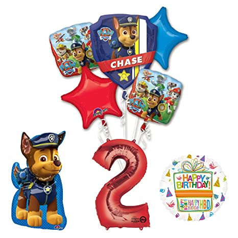 Amazon Paw Patrol The Ultimate 2nd Birthday Party Supplies And Balloon Decorations Toys Games