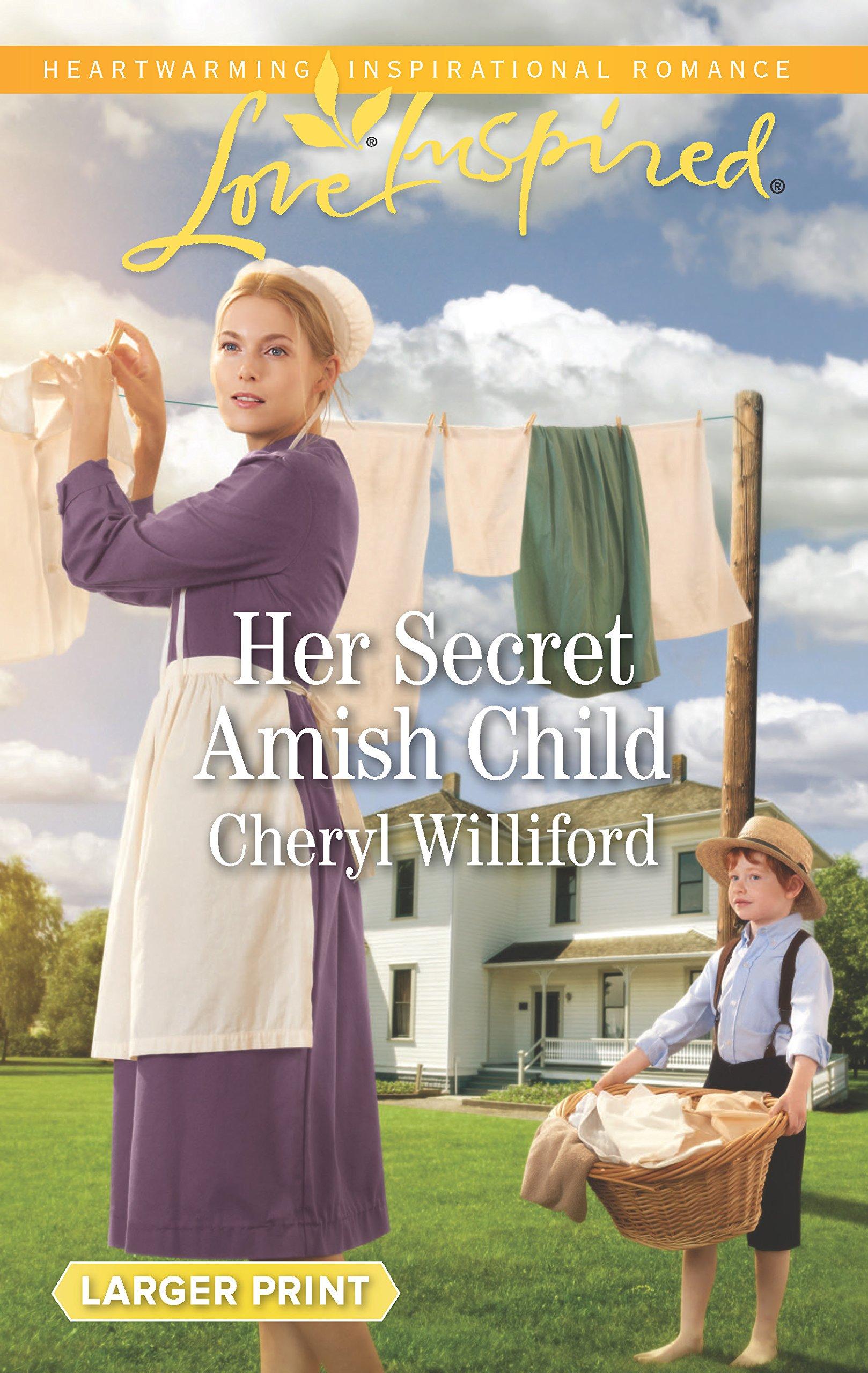 Her Secret Amish Child (Pinecraft Homecomings): Cheryl Williford:  9780373899203: Amazon.com: Books
