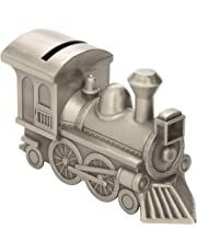 BABY Bank, Train with Pewter Finish