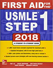 First aid for the USMLE: Step 1