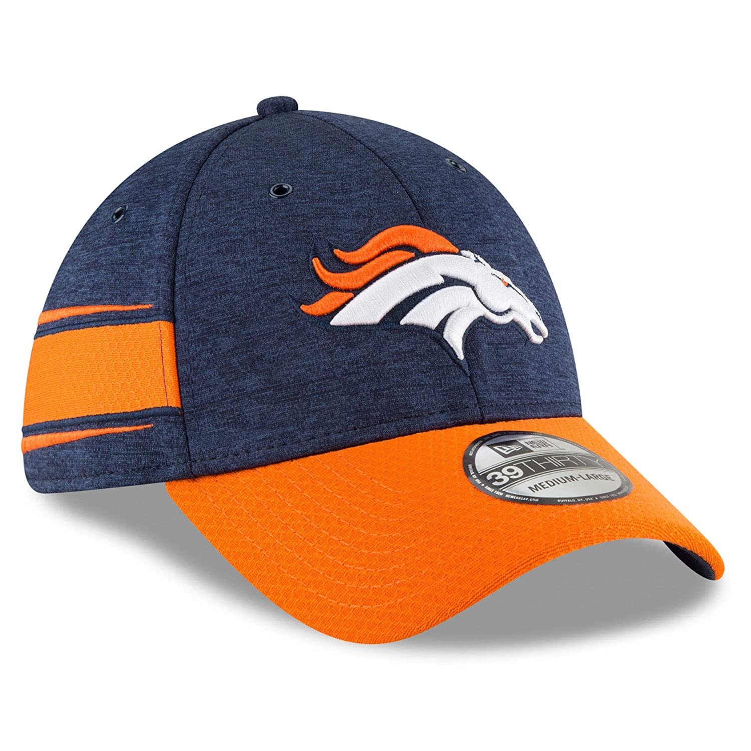 best website 7c4fe d8723 Amazon.com   New Era Denver Broncos 2018 NFL On Field Home 39THIRTY Cap    Shoes