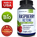 Pure Raspberry Ketones – Weight Loss and Energy Supplement – Natural Fat Burner, Highest Quality Raspberry Extract – Appetite Suppressant – USA Made By Huntington Labs