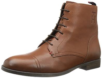 047c7cd172b11 Tommy Hilfiger Womens BILLIE 5 A Desert Boots Brown Braun (COGNAC 606) Size