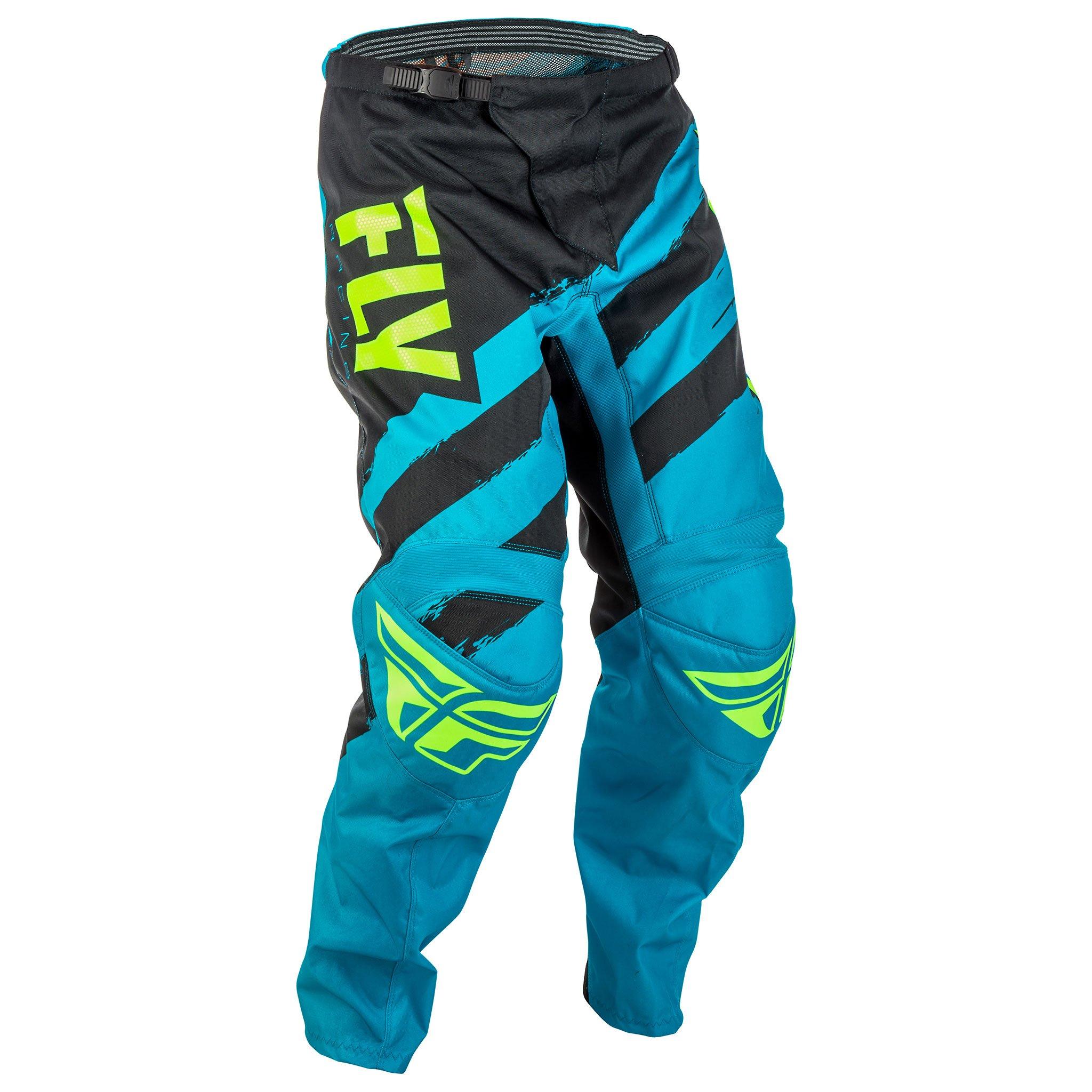 Fly Racing Men's Pants (Blue/Black, Size 18)