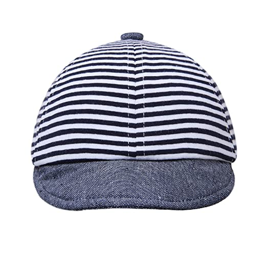 60084d16f54 Amazon.com  vivobiniya Newborn Boy Summer Hats Baby Sun Hats Little Bear  Baseball Cap 0-4y  Clothing