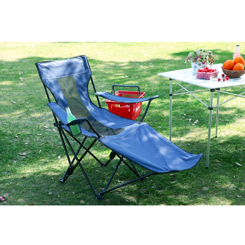 Camp Solutions Silla de campaña al aire libre reclinable ...