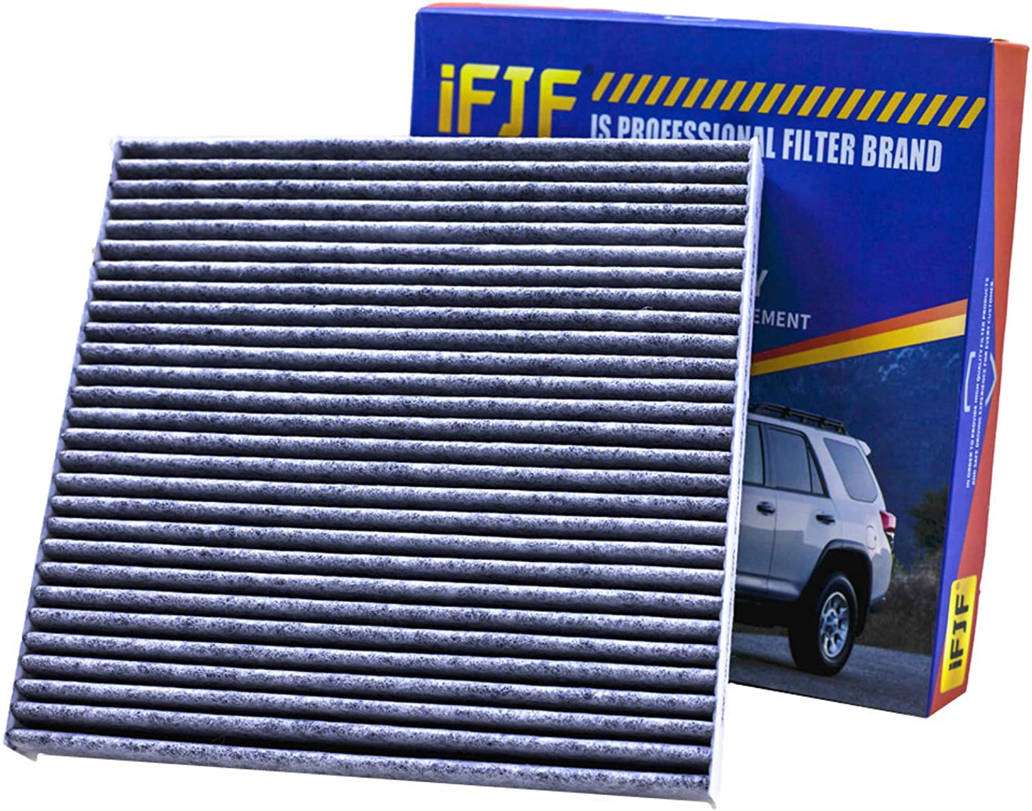 Honda /& Acura CF10134 RDX ILX CSX Puroma 2 Pack Cabin Air Filter with Multiple Fiber Layers Replacement for CP134 CR-V MDX Civic Odyssey