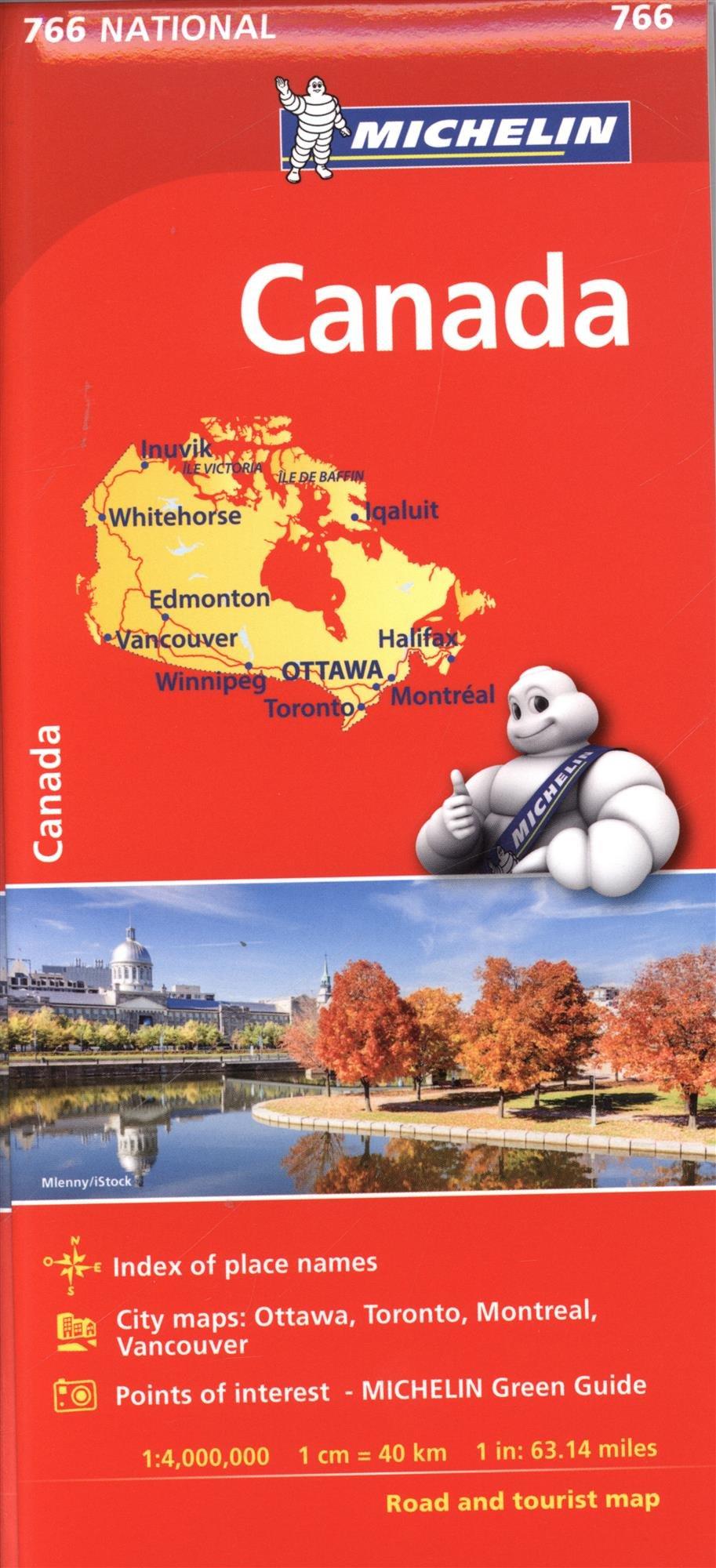 Michelin Canada Map # 766 (Michelin National) ebook