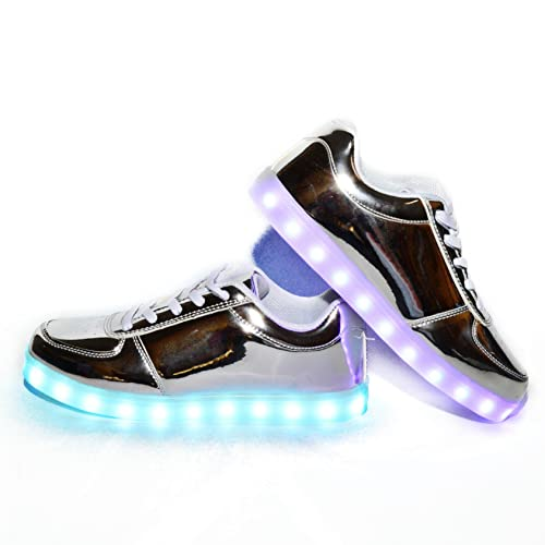 7 Usay Luces Carga Envio Colores Zapatillas Horas 24 Con Led Like r0zfr