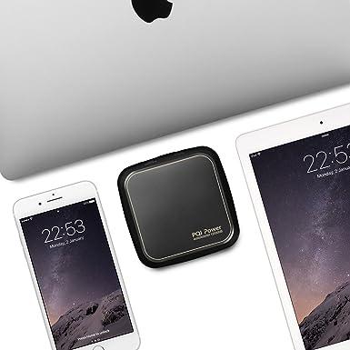 12000 mAh portátil Batería externa portátil de Batería para portátil, Tablet y teléfono, ...