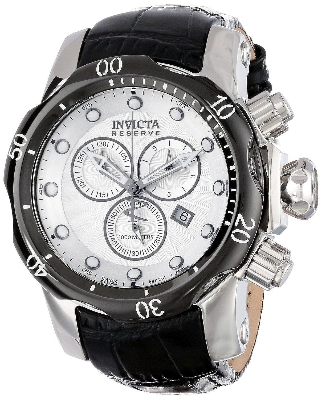インヴィクタ Invicta Men's 13904 Venom Analog Display Swiss Quartz Black Watch [並行輸入品] B00X62255M