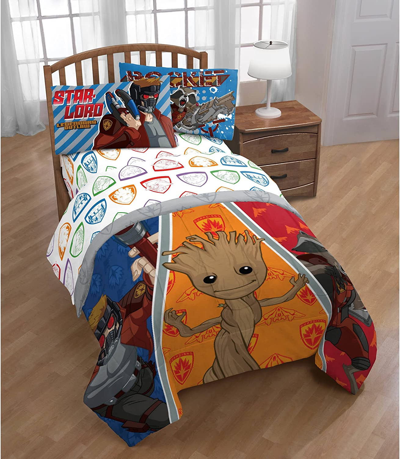 Guardians of the Galaxy Comforter and Sheet Set - Twin Size