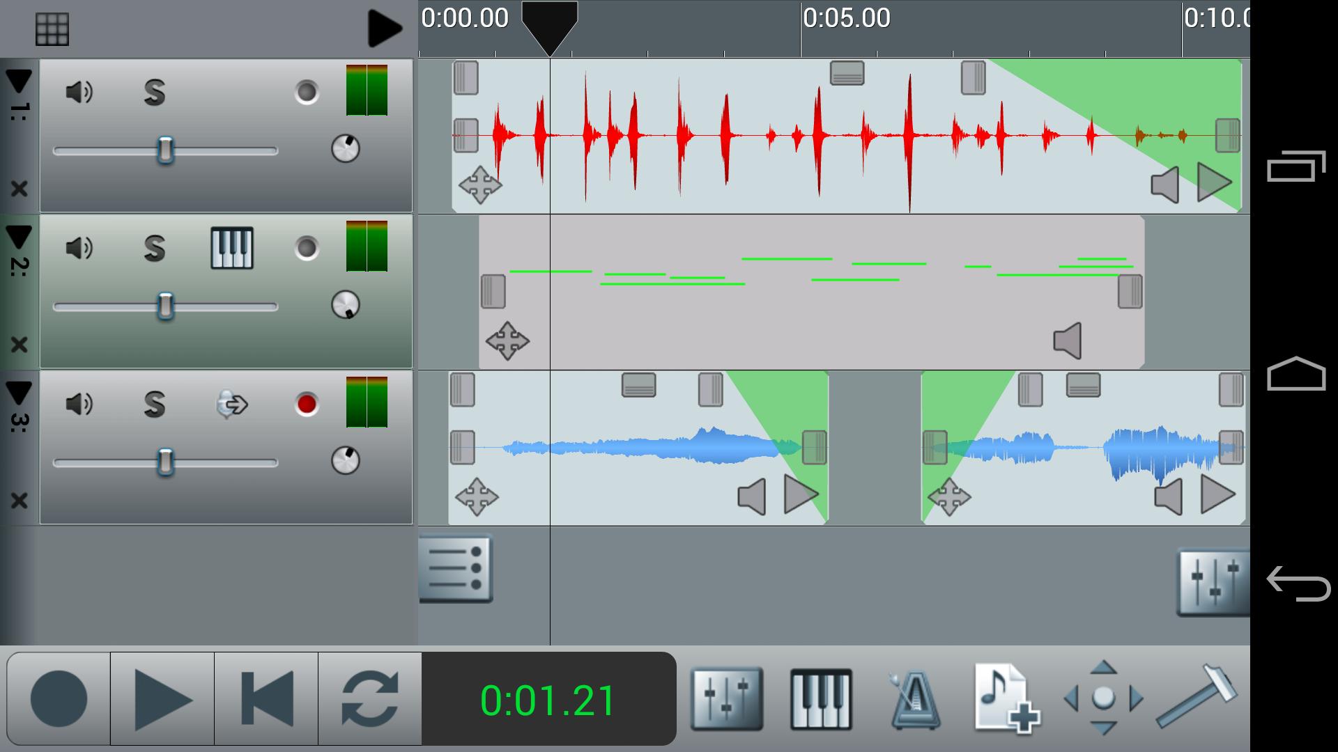 n-Track Studio Pro Multitrack Daw Electronics Audio Audio ...
